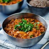 Sweet Potato Lentil Stew (V)