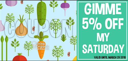 think organic coupon organic grocer cape town